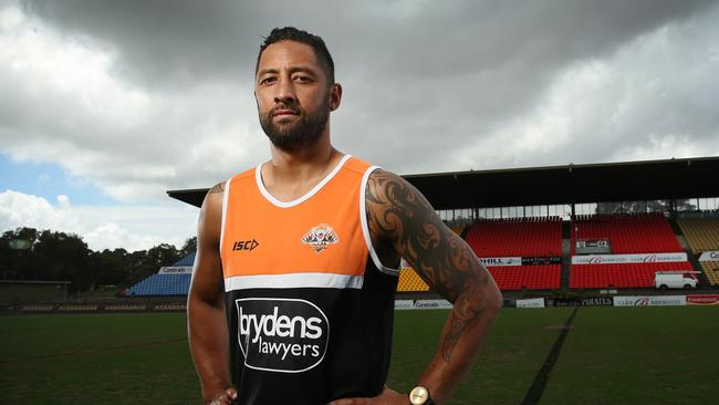 Wests Tigers player Benji Marshall.