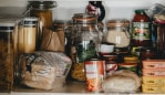 The foods our dietitian says to always have in the pantry if you're trying to lose weight. Image: Unsplash