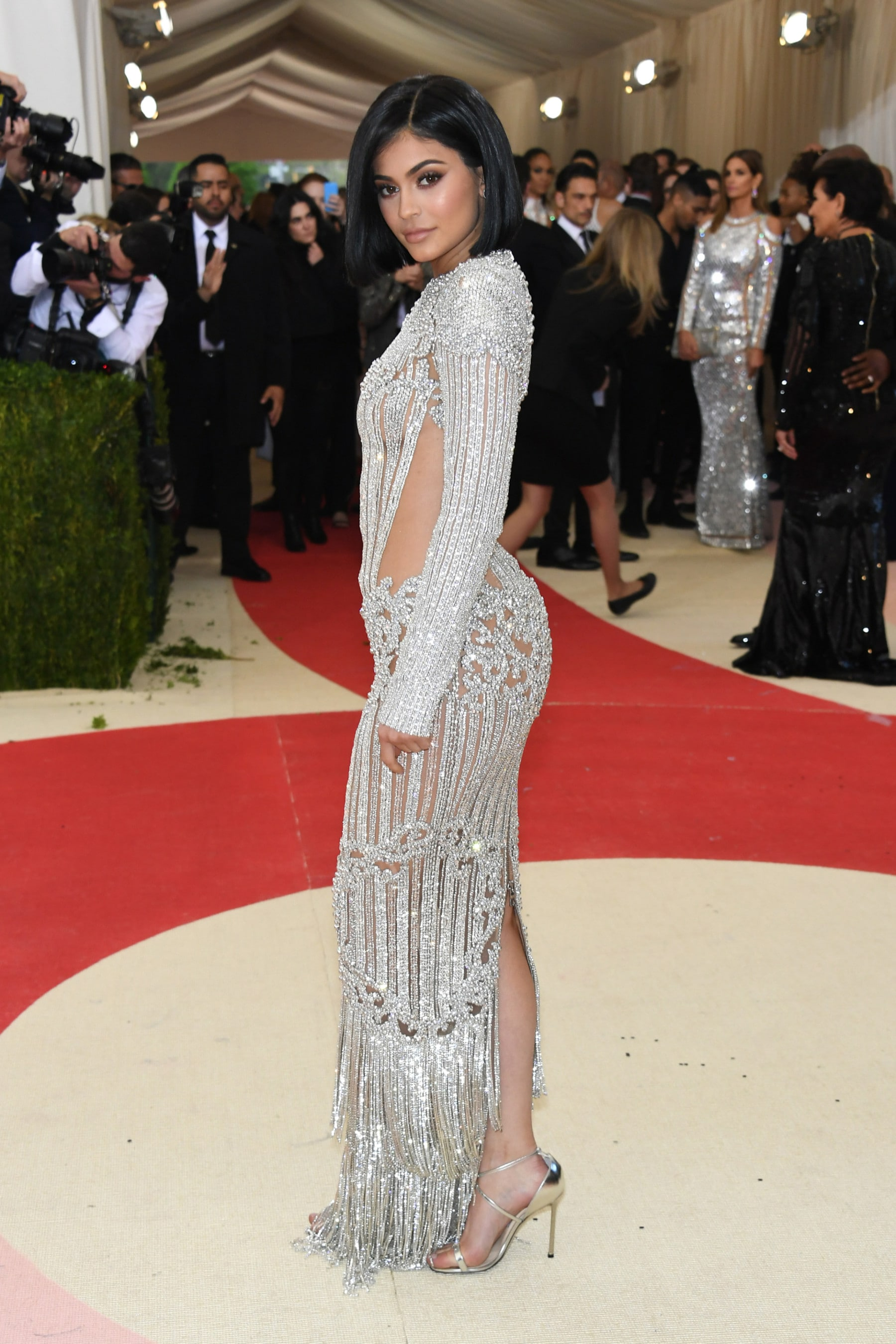 3475404cfc7 Kylie Jenner was nervous to attend her first Met Gala - Vogue Australia