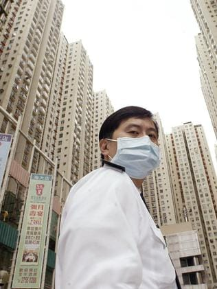 The SARS outbreak sparked a global emergency and saw entire neighbourhoods in Hong Kong quarantined.
