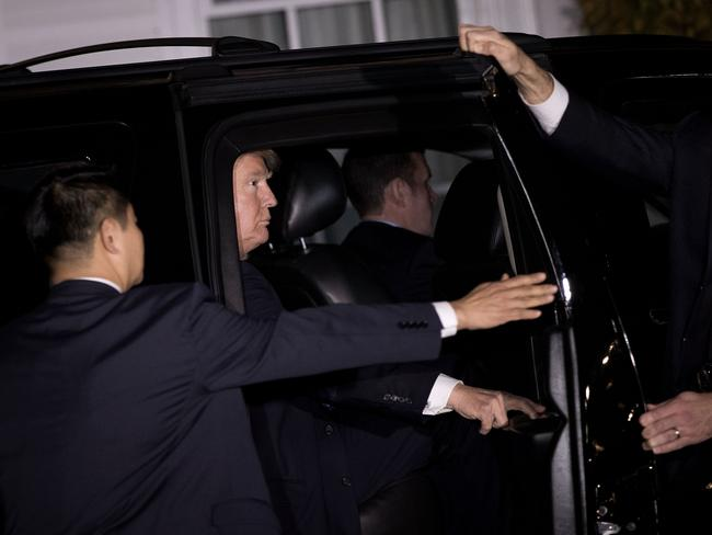 Donald Trump is set to get a flash new vehicle when he takes over the Oval Office. Picture: Drew Angerer/Getty Images