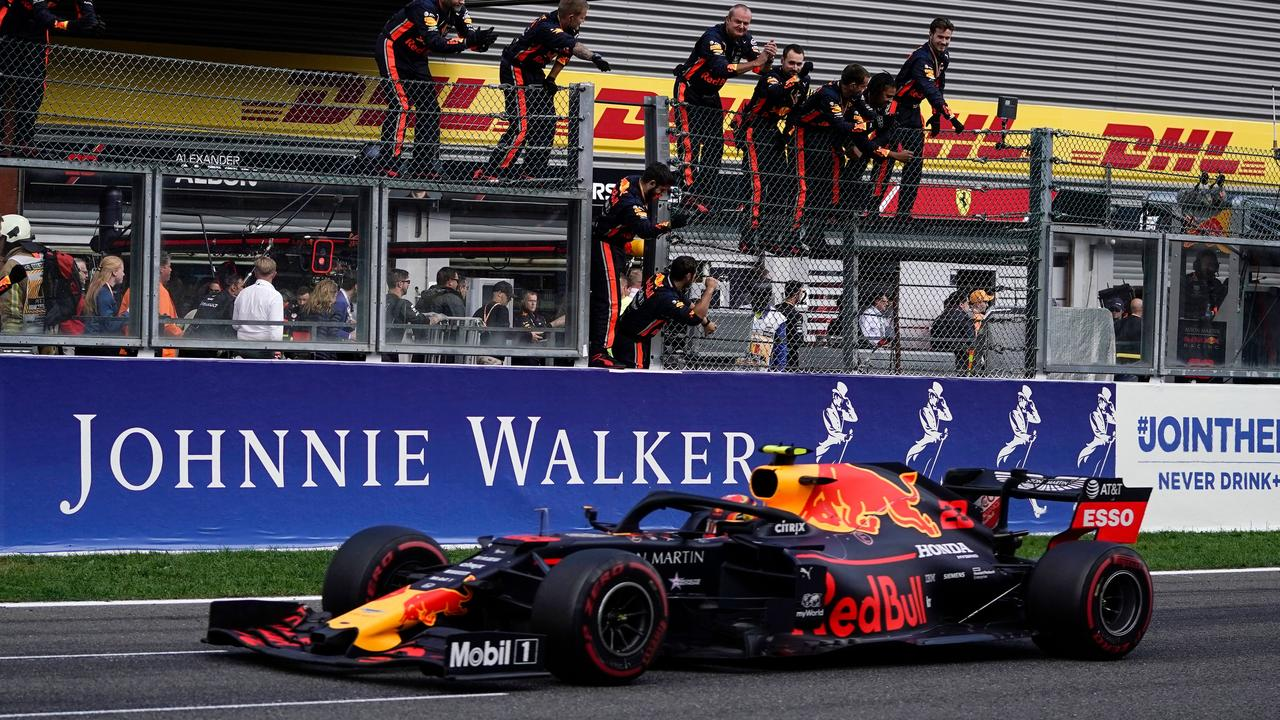 Albon went from 17th to fifth on his red Bull debut at Spa last year.