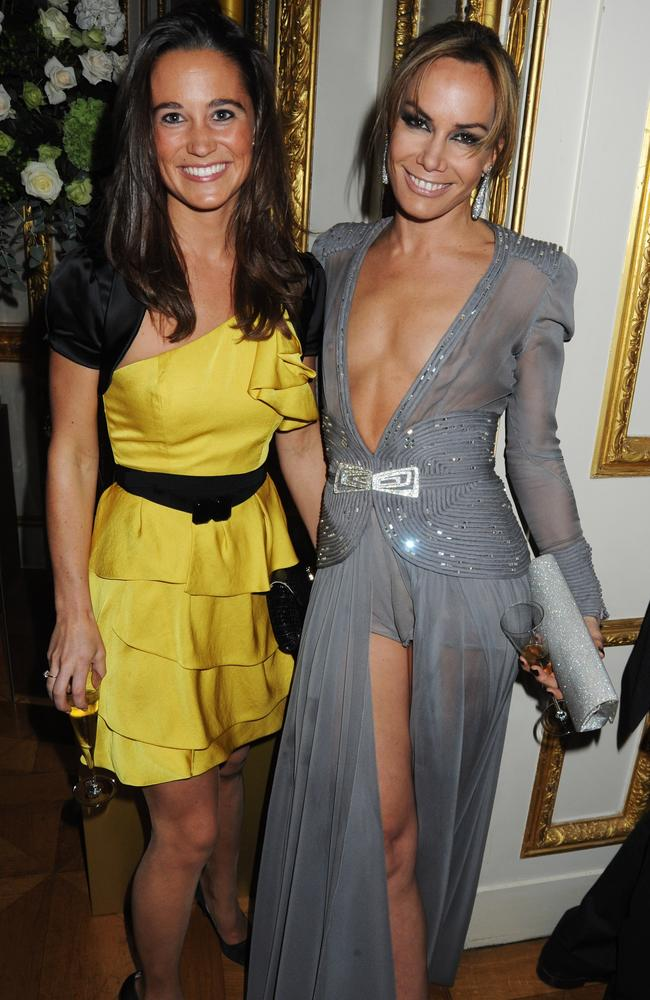 Seen here at the Tatler 300th Anniversary Party in 2009 with Pippa Middleton, the Duchess of Cambridge's sister. Picture: Dave M. Benett/Getty Images