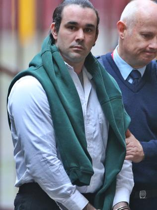 Bowe Maddigan smoked cannabis and drank all night at a party and sexually assaulted the 11-year-old daughter of his party hostess. Picture: Hamish Blair
