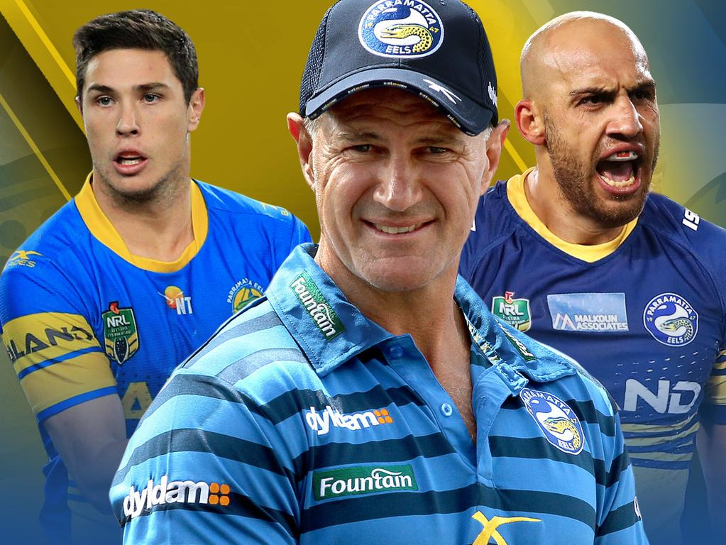 Eels' best 17 for the 2019 NRL season.