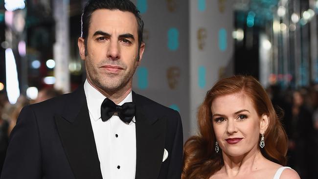 Sacha Baron Cohen says his wife Isla Fisher hated sleeping ...Sacha Baron Cohen Wife