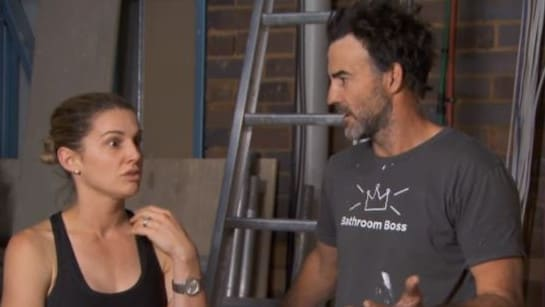 El'ise and Matt's remorse bubbled over in a tense argument tonight. Picture: Channel 9