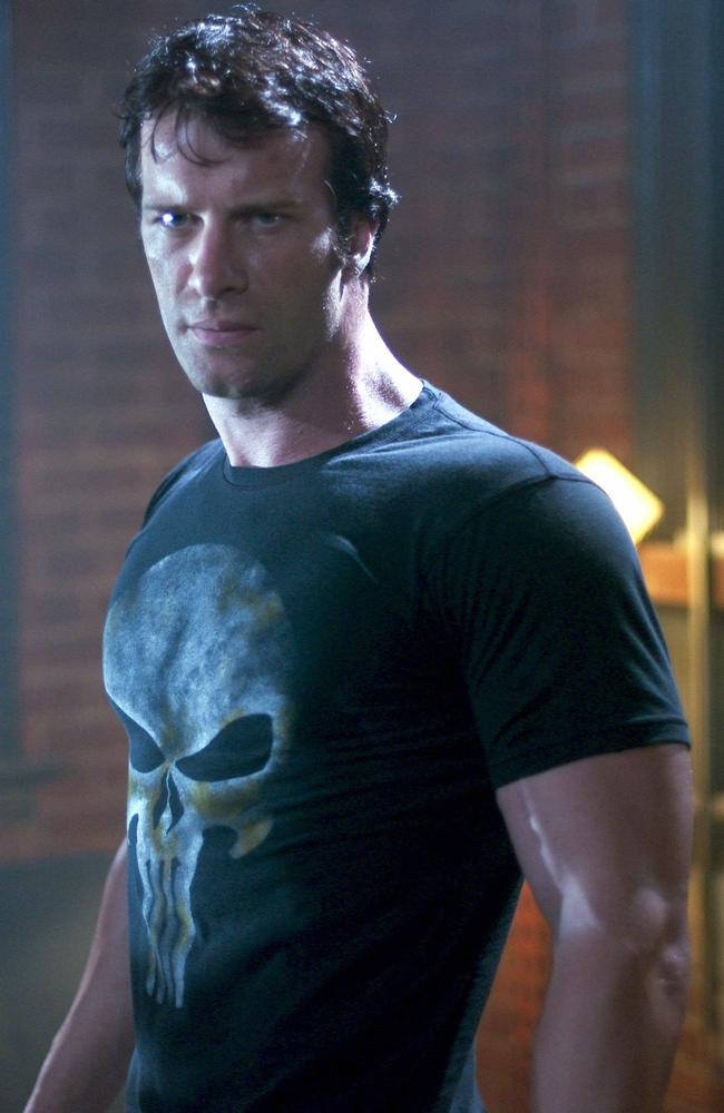 Tom Jane played The Punisher in the 2004 film of the same name.