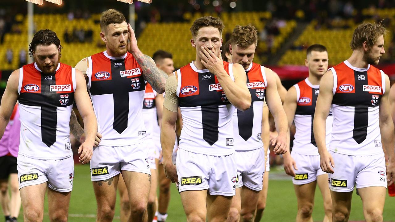 There could be mass off-field changes at St Kilda over the off-season.