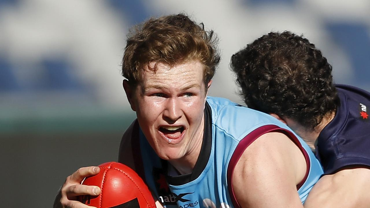 Deven Robertson, Matt Rowell and Hayden Young are all expected to feature in the first round of the draft.