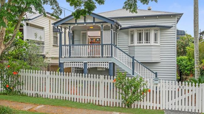 This house at 50 Park St, Kelvin Grove, had huge numbers of people through its doors at its first open home.