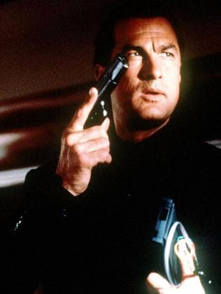 Steven Seagal in 1992's Under Siege.
