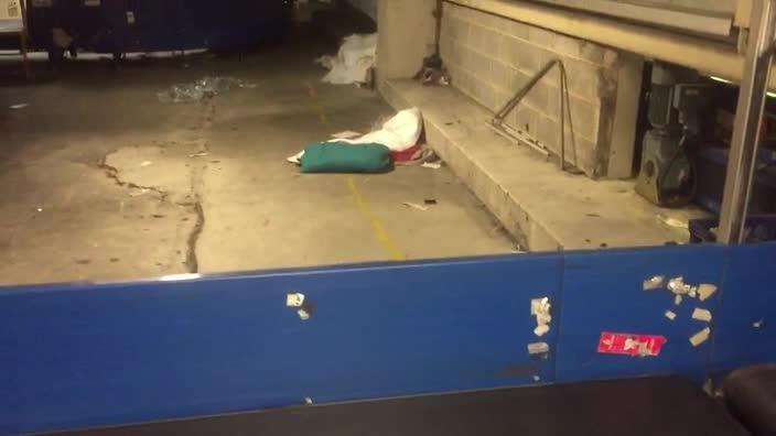 Sydney aviation workers forced to sleep rough