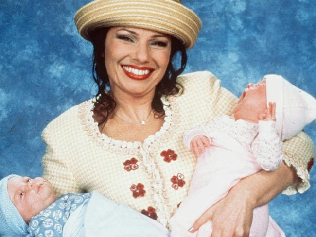 In the show's 1999 finale, Fran Fine gave birth to twins.