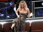 Jennifer Lawrence in the audience during the 90th Annual Academy Awards at the Dolby Theatre on March 4, 2018 in Hollywood, California. Picture: AFP