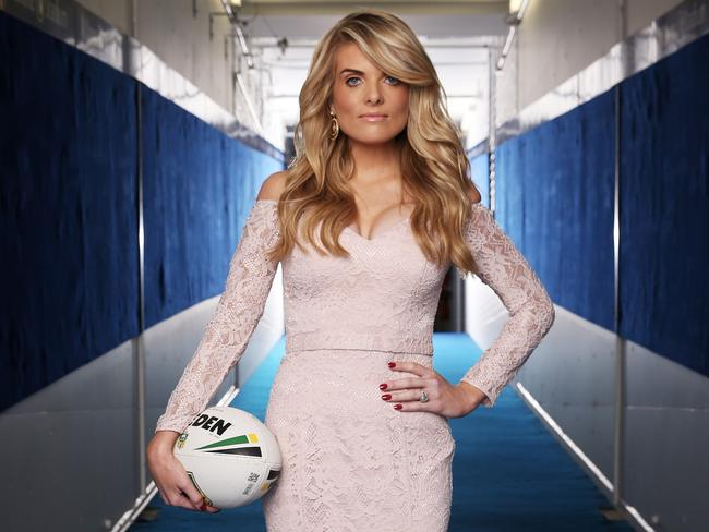 Erin Molan will host the revamped NRL Footy Show this year. Picture: Rohan Kelly.
