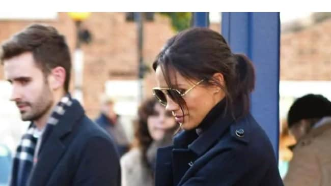 The pair were spotted enjoying lunch together over the weekend at an Italian restaurant in London's swanky Notting Hill. Picture: Backgrid. Source: BackGrid