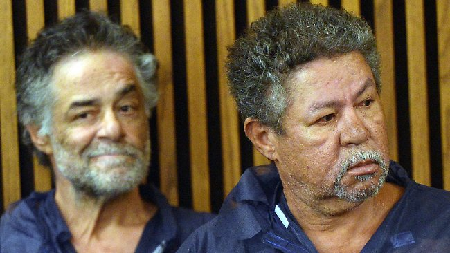 The Castro brothers (L-R) Onil and Pedro are arraigned at Cleveland Municipal Court.