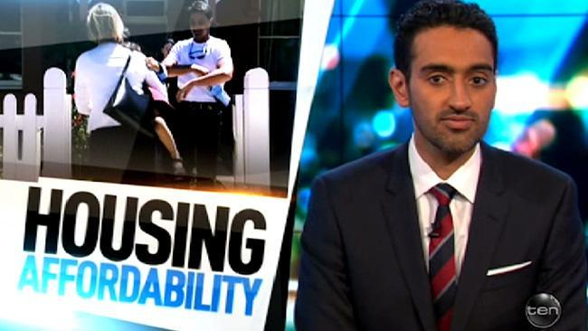 Waleed Aly talks housing affordability