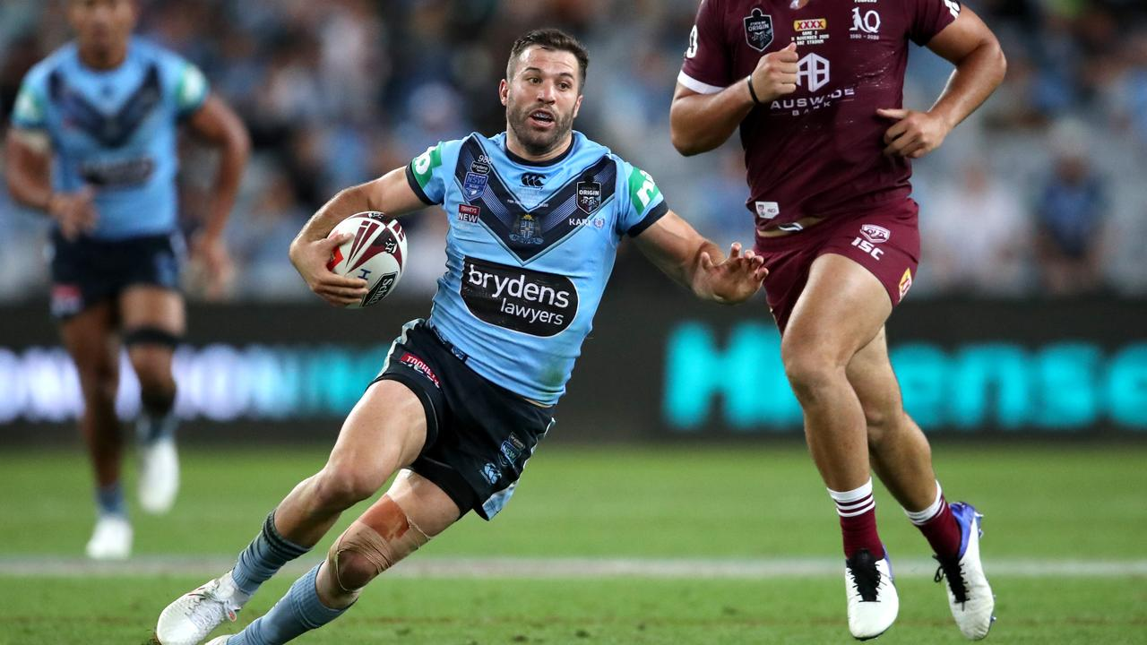 James Tedesco was again a standout for the Blues.