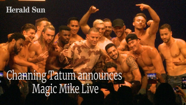 Channing Tatum announces Magic Mike Live