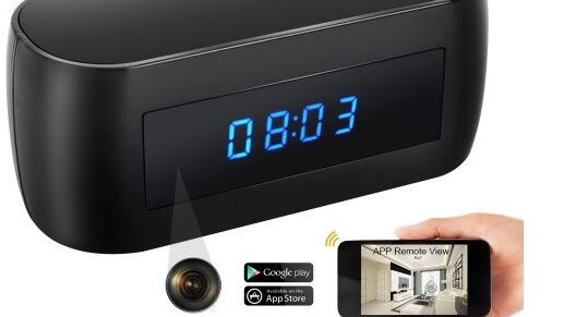 A digital spy camera clock was installed in the Pyrmont apartments.