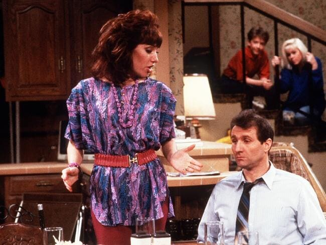 Katey Sagal, Ed O'Neill with David Faustino and Christina Applegate on Married … with Children. Picture: Supplied