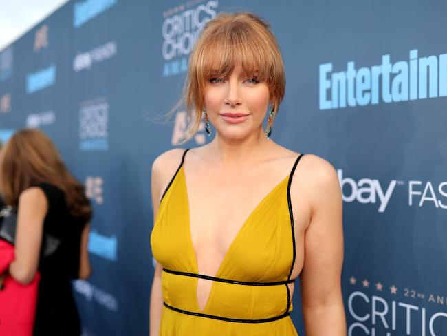 Actress Bryce Dallas Howard wowed in this Topshop gown at the Critics' Choice Awards. Picture: Christopher Polk