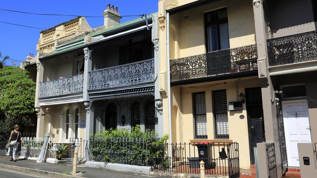 More Australians are living in semi-detached homes such as terrace houses.