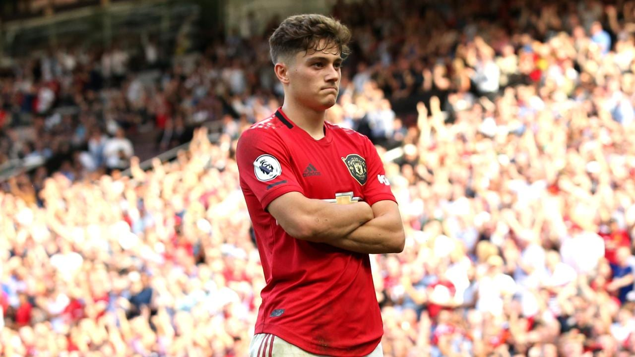 Daniel James has scored half of United's goals from open play in the Premier League this season.