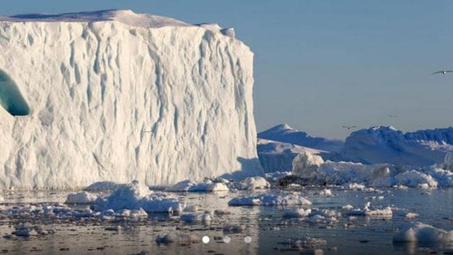 NASA's OMG mission will examine how warm ocean water is speeding the loss of Greenland's glaciers. PIC: NordForsk.