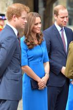 WE'RE feeling for Catherine, The Duchess of Cambridge, as she battles on with her severe morning sickness during her second pregnancy. The stunning royal, who was last seen out back in August when her bump was barely there, has had to cancel yet another public engagement due to feeling unwell, it has been reported. Take a look through as we check out other growing bumps across Celeb-land. Picture: John Stillwell/WPA Pool/Getty Images