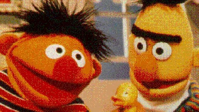 Mr Saltzman said Ernie was based on him. Picture: Supplied