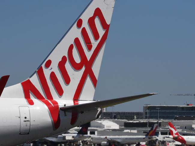 Virgin Australia has become the first Australian carrier to offer Wi-Fi on international flights. Picture: AAP/Peter Rae