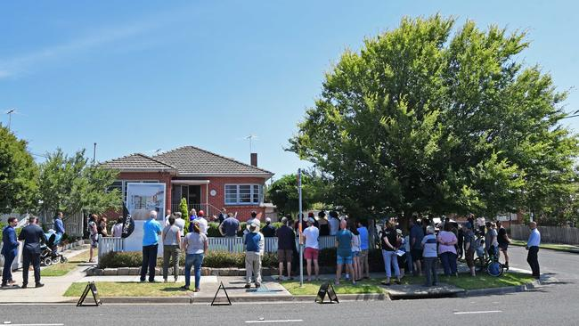 Attend lots of auctions and open homes in preparation. Picture: Stephen Harman