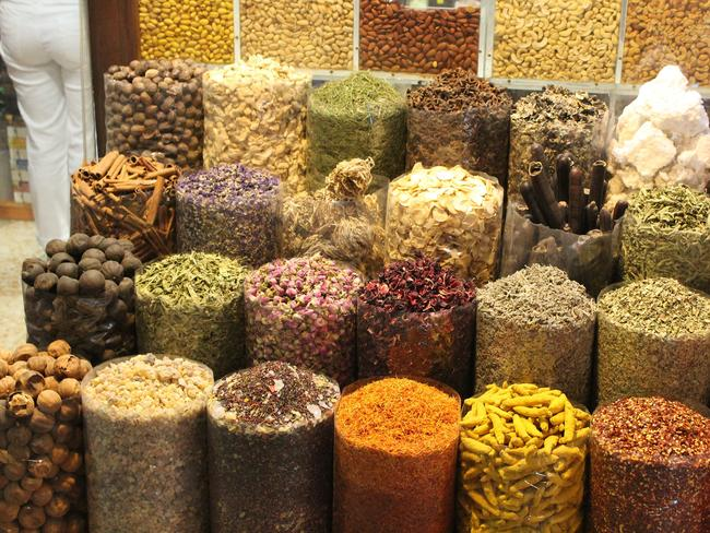 Spices everywhere. Picture: Jenny Hewett