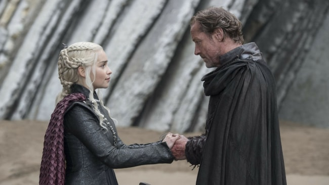 Jorah Mormont reunited with his Khaleesi in season seven of 'Game of Thrones'. Photo: HBO