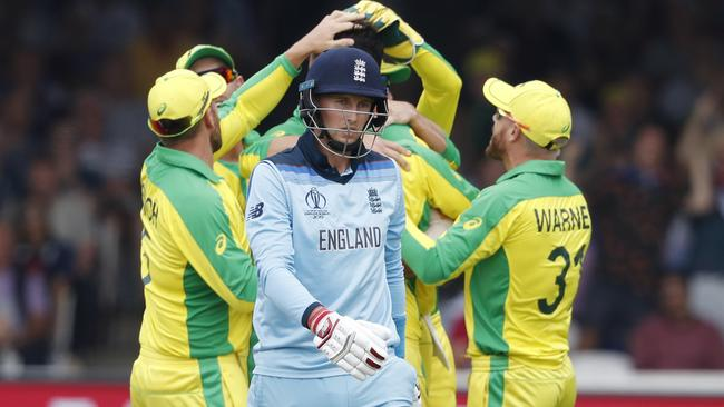 Joe Root and the England team are in danger of missing the semi-finals of their own World Cup.