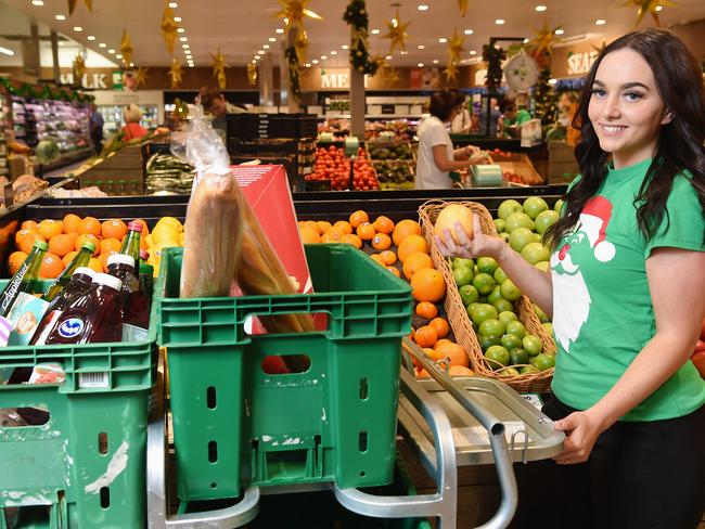 Woolworths has launched its 'Delivery Now' service, which offers near-instant grocery deliveries in 48 locations across Australia. Picture: Lawrence Pinder