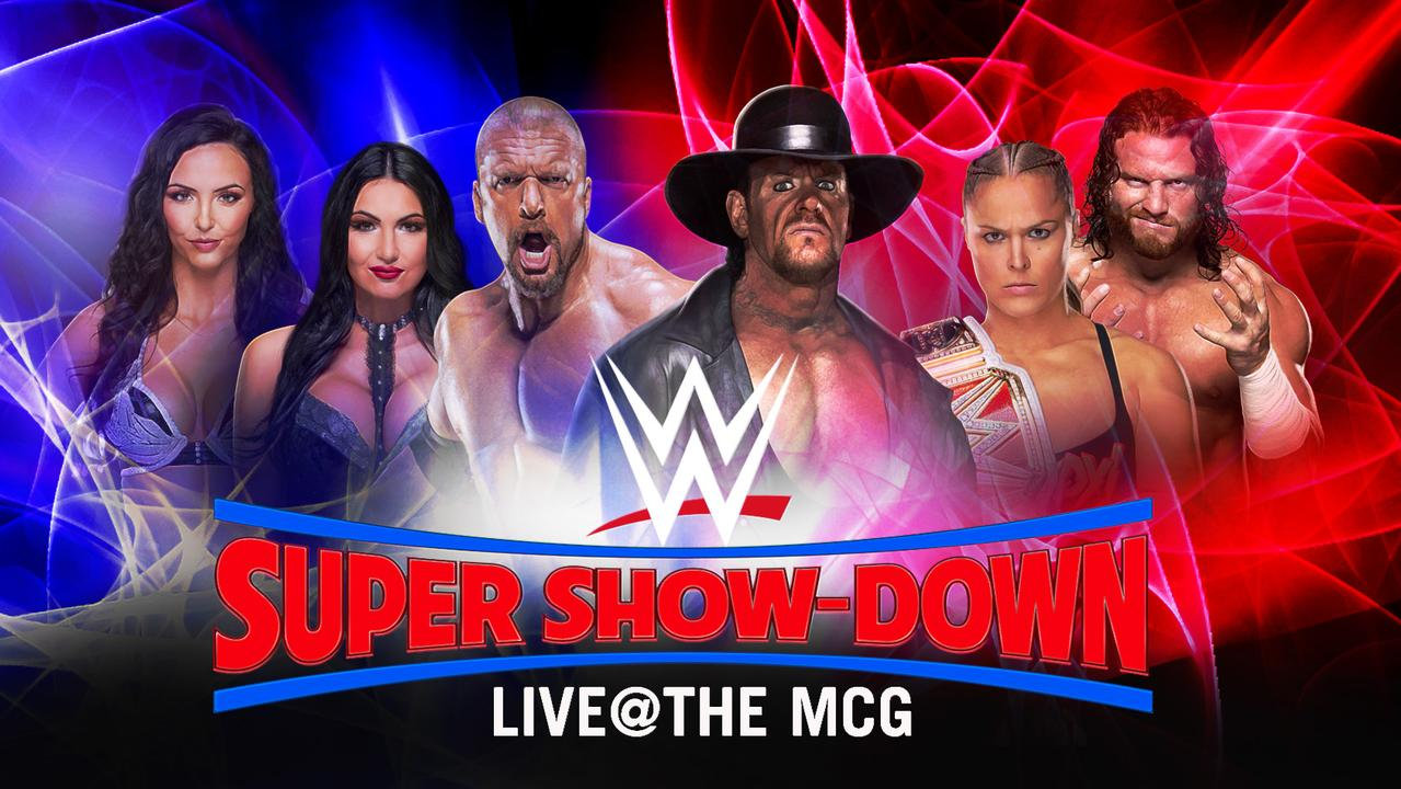 Follow WWE Super Show-Down live from the MCG.