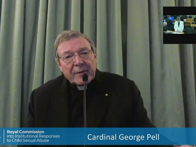 Cardinal George Pell has been squirming on the stand facing questions from Senior Counsel assisting the commission Gail Furness.