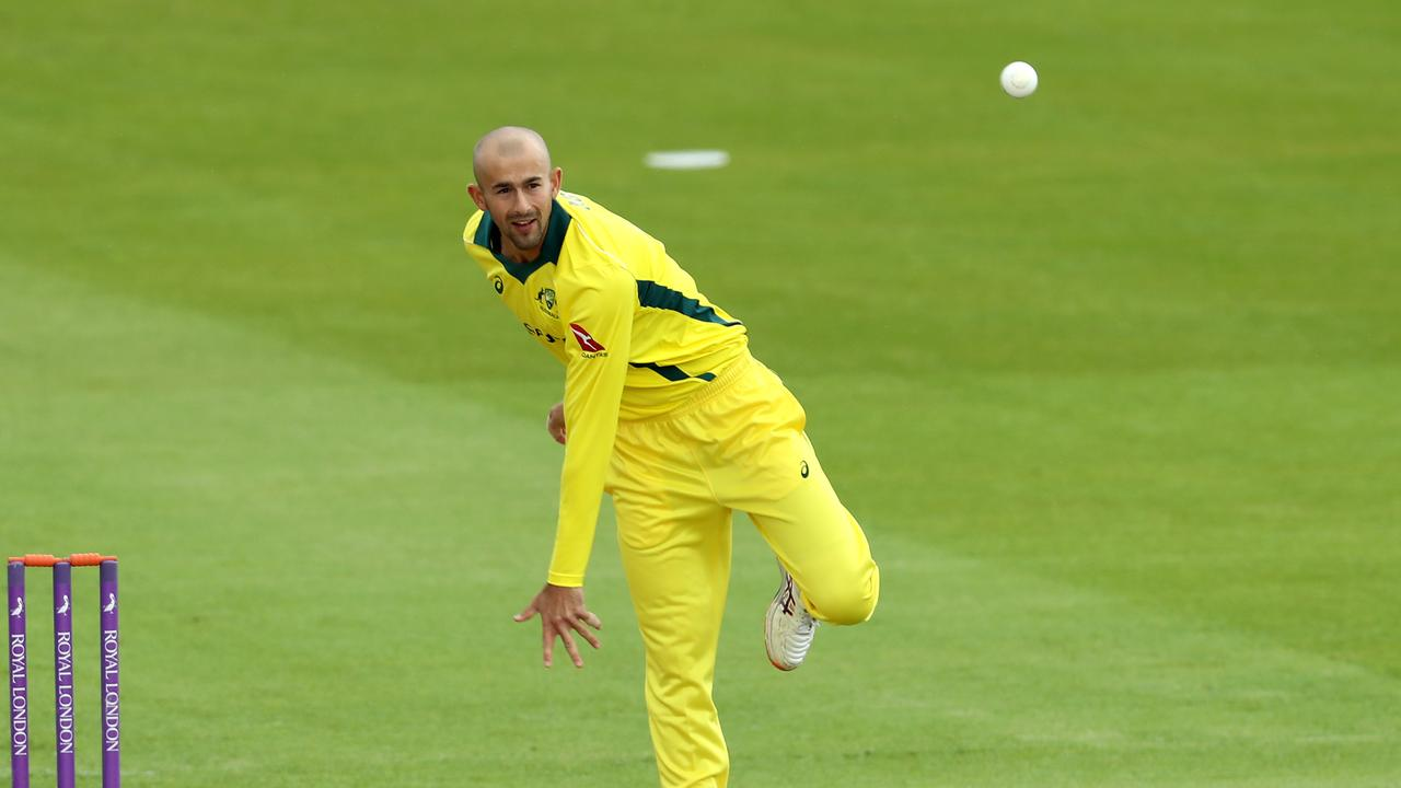 Agar in action for Australia A earlier this week. Photo: David Rogers/Getty Images.