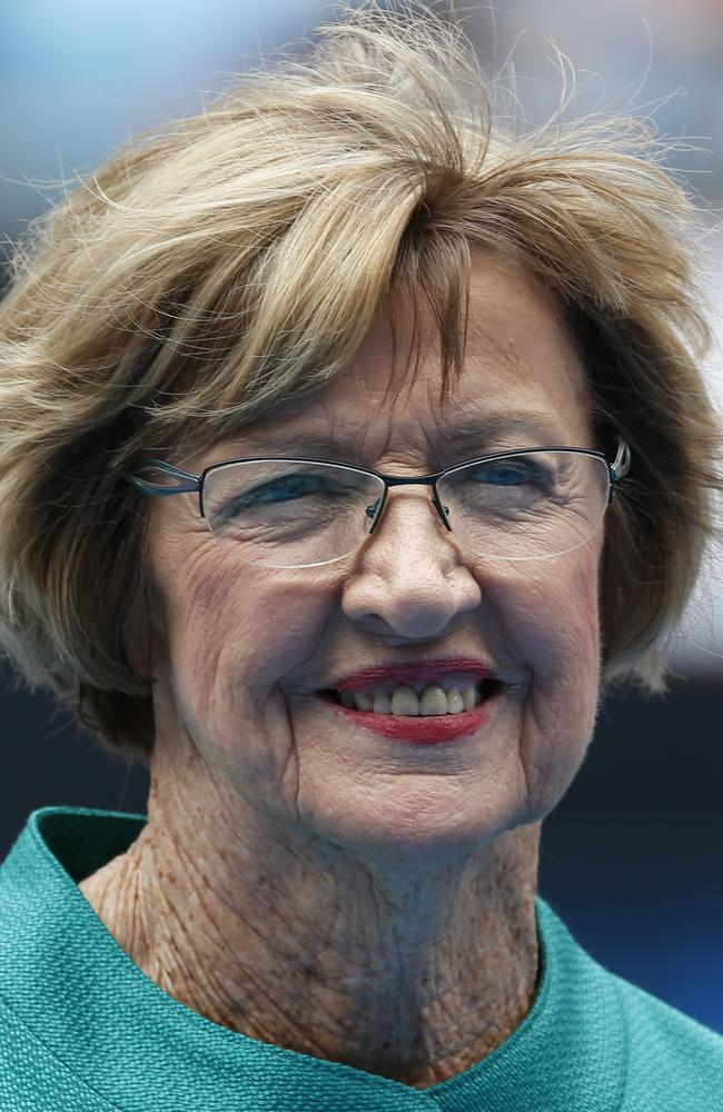 """I love all people and will be pleased to talk to your board at any time,"" Margaret Court wrote in a letter to Qantas, published in a newspaper. Picture: AP"