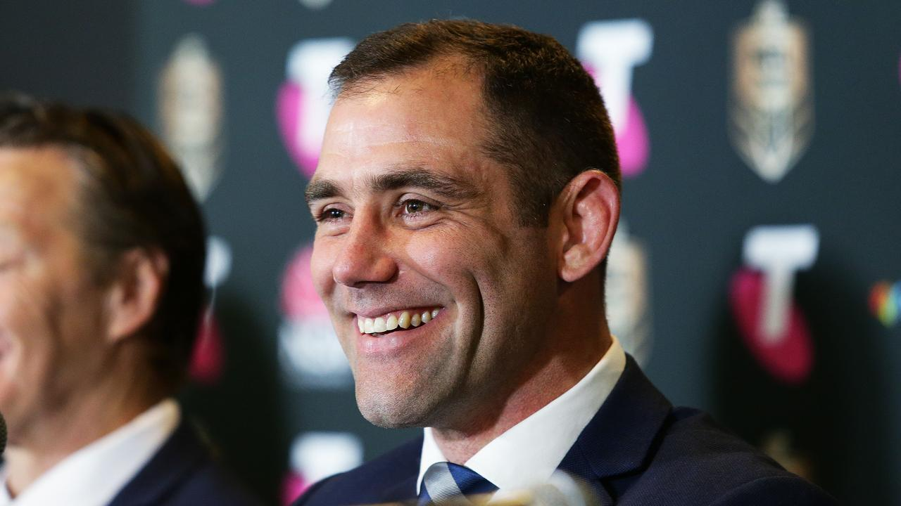 Storm captain Cameron Smith will become the most experienced finals player. Picture: Brett Costello