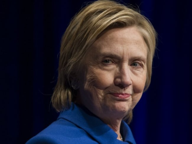 Hillary Clinton is reportedly being lobbied to call for a recount in three swing seats won by president-elect Donald Trump. Picture: Cliff Owen/AP