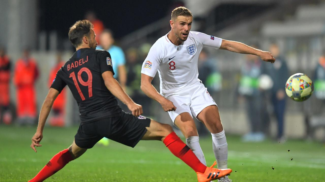 Jordan Henderson's foul language in the Nations League clash with Croatia was cited by the FA.