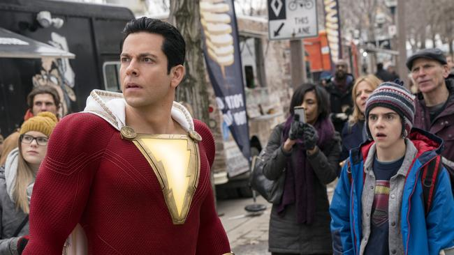 Shazam is like a throwback to the '90s Picture: Steve Wilkie/Warner Bros. Entertainment via AP