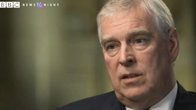 The Duke of York's interview has become a PR nightmare for the royals. Source: BBC