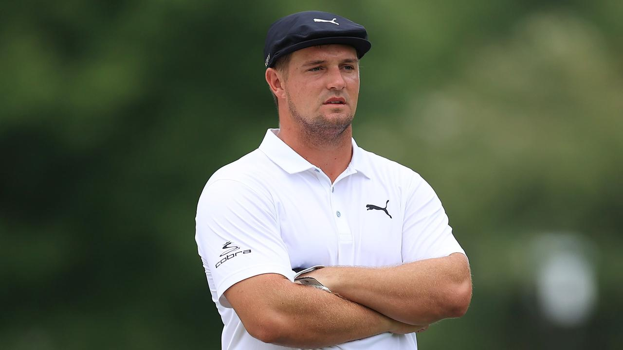 Bryson DeChambeau was not fussed by the rule change. Andy Lyons/Getty Images/AFP