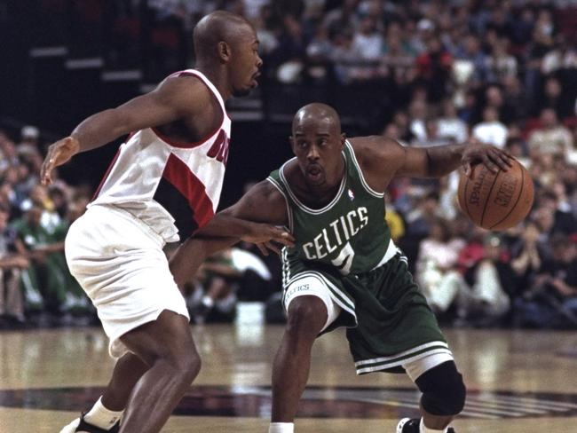 Kenny Anderson had game. Credit: Otto Greule Jr. /Allsport